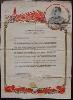 Demobilization Certificate