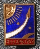 Space Race Pin