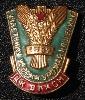 1957 Virgin Lands Harvester Badge